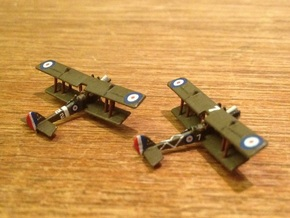 1/350 RAF RE 8 in Smooth Fine Detail Plastic