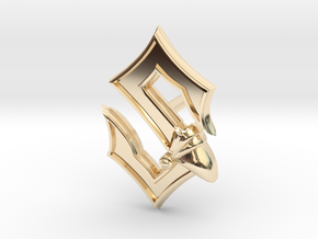 Sabaton Pin Earring in 14K Yellow Gold
