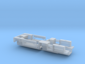 7203A • 1×British M14 and 1×M9A1 Half-track Bodies in Smooth Fine Detail Plastic