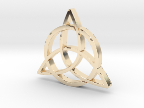 Triquetra in 14K Yellow Gold