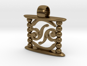 Aeon Tribe Temple Version in Natural Bronze