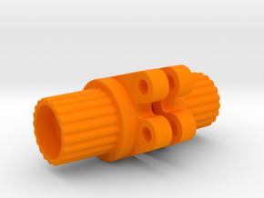 Wrapter for Losi Mini Rock Crawler in Orange Processed Versatile Plastic