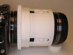Zoomgear for Olympus M.ZUIKO 12‑50 and PT-EP10 in White Strong & Flexible Polished