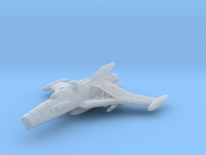 EDSF Cosmo Hawk Class Fighter Bomber in Smooth Fine Detail Plastic