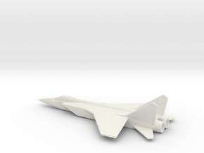 MiG-31 Foxhound 1/285 scale Russian interceptor in White Natural Versatile Plastic