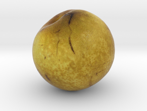 The Pear in Full Color Sandstone