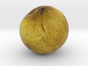 The Pear in Full Color Sandstone