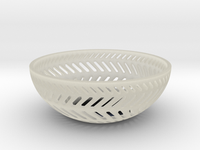 Backslash Bowl in Transparent Acrylic