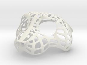 Fursuithead 17 in White Natural Versatile Plastic