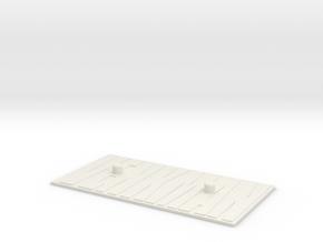 Venkman Base in White Natural Versatile Plastic