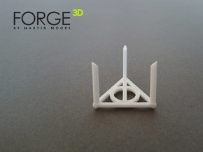 The Golden Snitch STAND  in White Natural Versatile Plastic