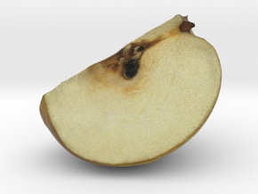 The Pear-Quarter in Full Color Sandstone