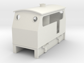 009 cheap and easy Victoria VB loco  in White Natural Versatile Plastic