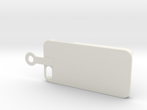 Iphone hook in White Natural Versatile Plastic