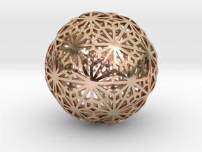 Flexible Sphere_d1 in 14k Rose Gold