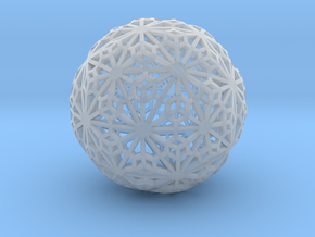 Flexible Sphere_d1 in Smooth Fine Detail Plastic