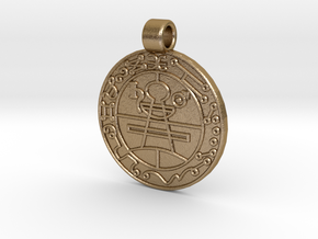 LTFCOIN in Polished Gold Steel