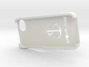 IPhoneOutside in White Natural Versatile Plastic