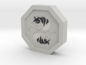 Tiger Talisman in Full Color Sandstone