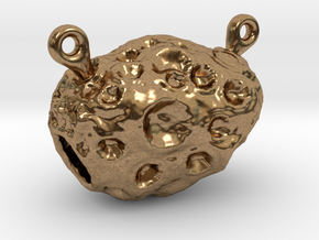 Pendant 02 - unnamed small asteroid in Natural Brass