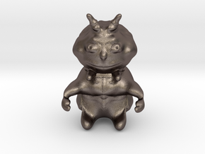 Demon in Polished Bronzed Silver Steel