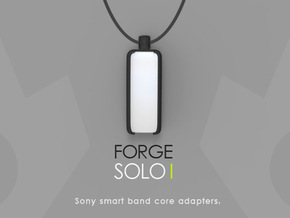 Sony smart band core adapter -  SOLO I (pendant) in Black Natural Versatile Plastic