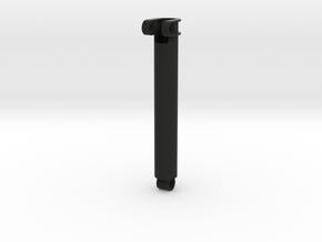 Gear rack aktuator in Black Natural Versatile Plastic