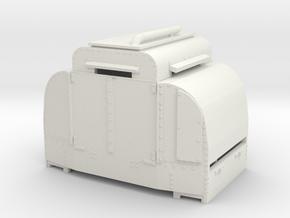 B-1-76-armoured-simplex1  OO9 in White Natural Versatile Plastic