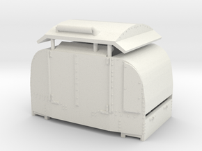 B-1-76-protected-simplex1 OO9 in White Natural Versatile Plastic