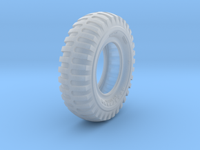 1/16 Military Tire 1400x24 in Smooth Fine Detail Plastic