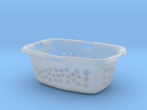 1:12 Wäschekorb - Laundry basket in Smooth Fine Detail Plastic