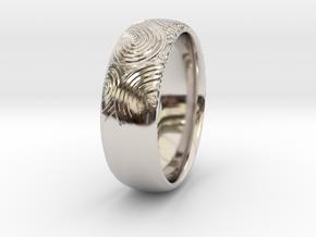 Custom RING For Her in Platinum