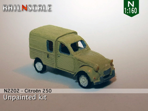 Citroën 250 (N 1:160) in Smooth Fine Detail Plastic