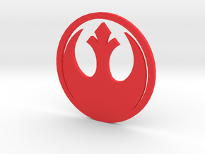 MK4 Jetta Rebel Alliance Rear Emblem in Red Strong & Flexible Polished