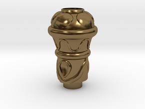 Sword of Omens: 15. Grip Pomel in Polished Bronze