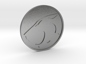 Thundercats Coin in Natural Silver