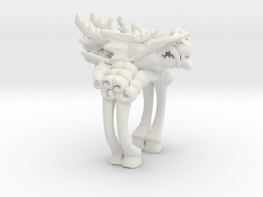 Legend of KIRIN in White Natural Versatile Plastic