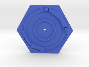 Corp Click in Blue Processed Versatile Plastic
