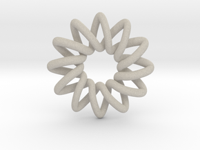 Basic 12-point Knot in Natural Sandstone