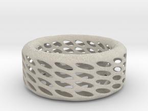 Eggcup Ring in Natural Sandstone