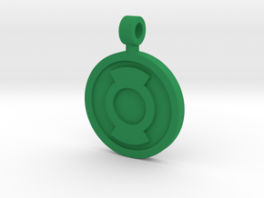 First Flight Pendant in Green Processed Versatile Plastic