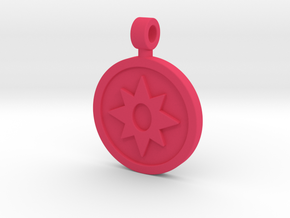 Star Saphire Pendant in Pink Strong & Flexible Polished