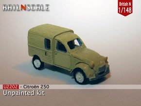 Citroën 250 (British N 1:148) in Smooth Fine Detail Plastic