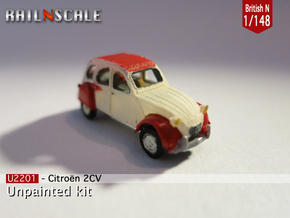 Citroën 2CV (British N 1:148) in Frosted Ultra Detail