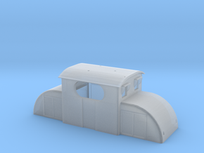 Upper chassis for E13  electric model locomotive in Frosted Ultra Detail