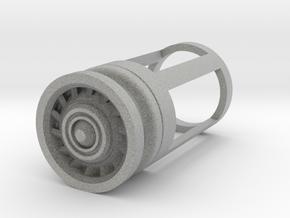Blade Plug - Razor in Metallic Plastic