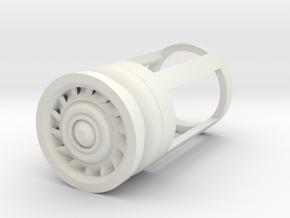 Blade Plug - Razor in White Natural Versatile Plastic