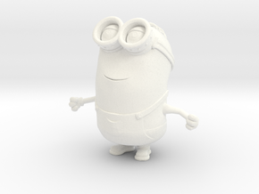 Minion  in White Processed Versatile Plastic