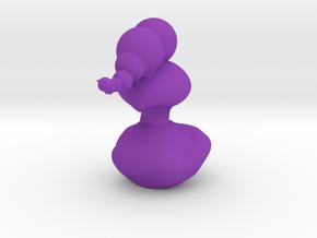 The Catterpiller tiny in Purple Processed Versatile Plastic