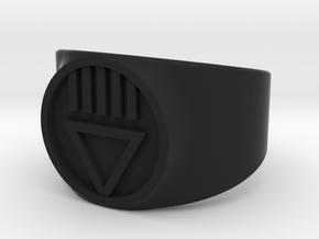 Black Death GL Ver 2 Ring Sz 9 in Black Strong & Flexible